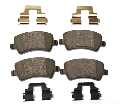 REAR BRAKE PADS FOR RANGE ROVER EVOQUE PART # LR043714. FITS RANGE ROVER EVOQUE 2013-2017