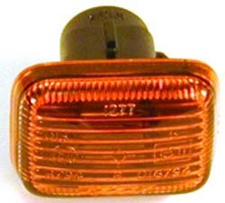NEW FRONT SIDE MARKER LIGHT FOR LAND ROVER PART # PRC9916. FITS  LAND ROVER DISCOVERY 1994-1998, FITS RANGE ROVER 1996-1999