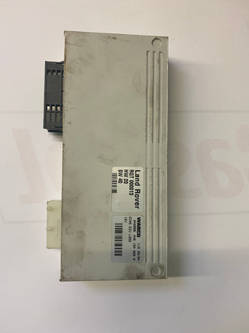 USED RANGE ROVER AIR RIDE SUSPENSION CONTROL MODULE COMPUTER PART #RQT-000013. FITS RANGE ROVER 2003-2006.