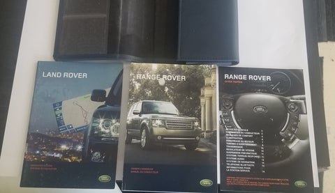 USED OWNER'S MANUAL FOR LAND ROVER(IN FRENCH). FOR RANGE ROVERS 2009