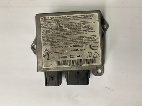 USED JAGUAR AIRBAG ELECTRONIC CONTROL MODULE PART #C2S31697. FITS X TYPE 2002-2003