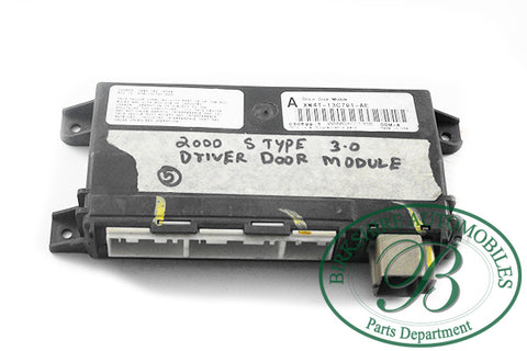 JAGUAR DRIVERS DOOR MODULE PART#XW4T 13C791 AE FITS 00-04 S-TYPE