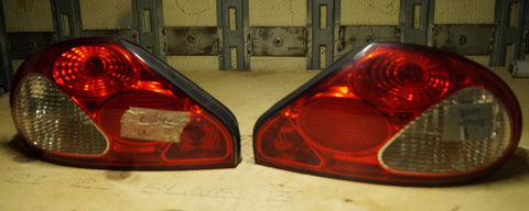 USED JAGUAR X TYPE REAR TAIL LIGHTS PART #C2S40487/C2S40488. FITS JAGUAR X TYPE 2002-2008