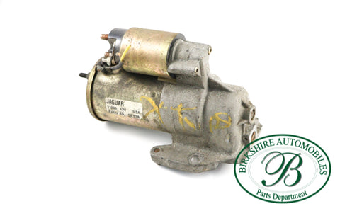 USED JAGUAR STARTER MOTOR  PART#110004X4UAA.  FITS: 2004-2008 X-TYPE 3.0L