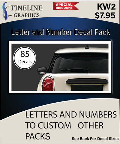 Letter and Number Pack