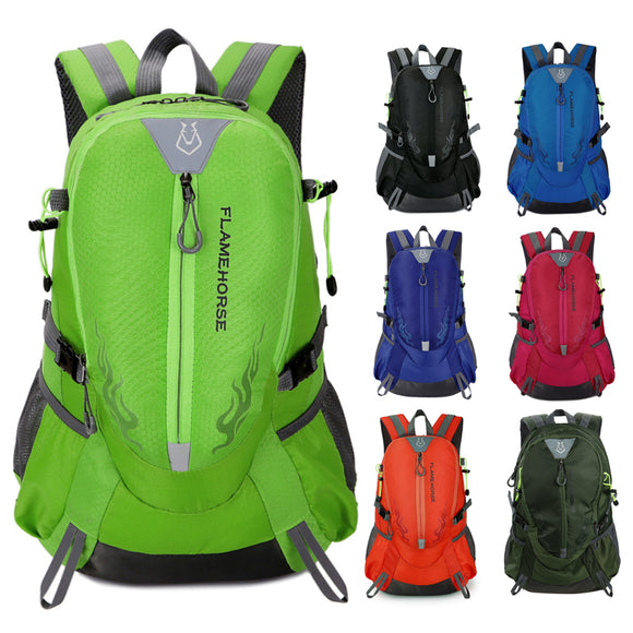 Waterproof Nylon Men Women Backpack Outdoor