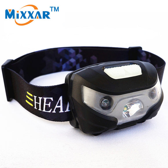 Mini  Rechargeable LED Headlamp With USB