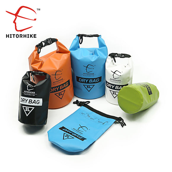 2L 5L Outdoor PVC IPX6 Waterproof Dry Bag Durable Lightweight floating