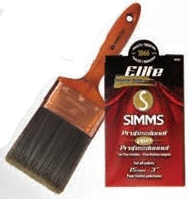 Simms - Elite - Pinceau Droit / Wall Brush