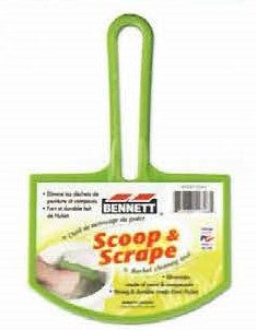 Bennett - Bucket Cleaner - Scoop & Scrape
