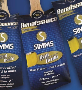 Simms - Renaissance - Pinceau Oval - Oval Brush - Master Sash