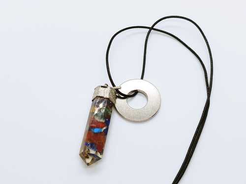 Necklace with Orgonite Pendant