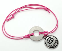 Classic Adjustable Bracelet with Horoscope Charm