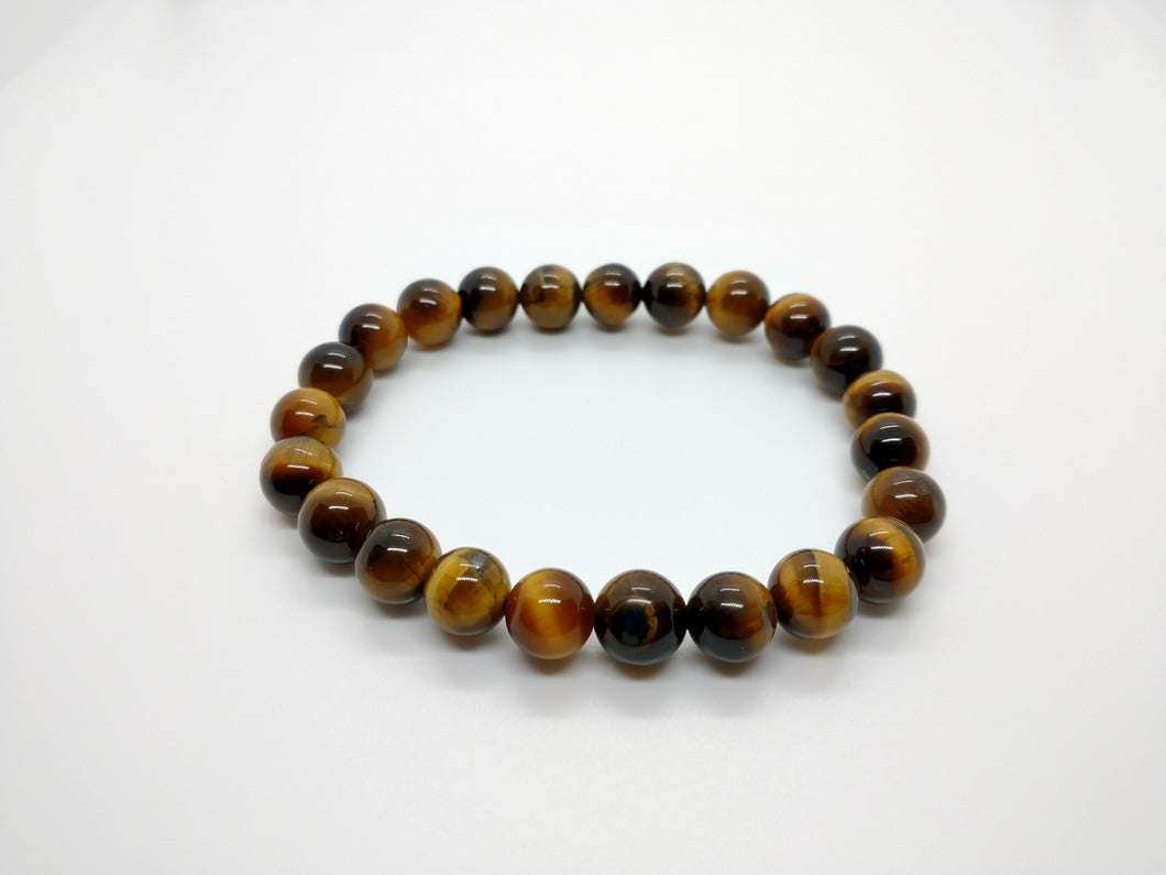 Tiger's Eye Gemstone Healing Bracelet