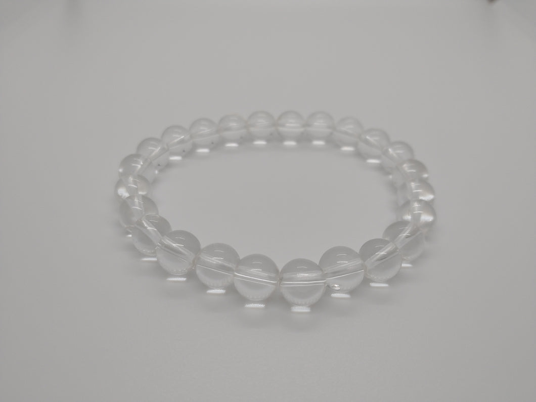 Clear Quartz Gemstone Healing Bracelet