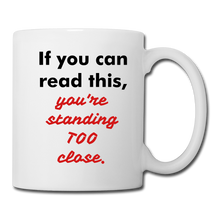 If you can read this #1 Coffee/Tea Mug - white