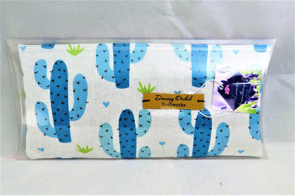 Lavender Aromatherapy Eye Cotton Eye Pillow - Dancing Orchid SoapWorks