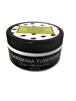 Gardenia Tuberose Silk And Satin Body Lotion - Dancing Orchid SoapWorks