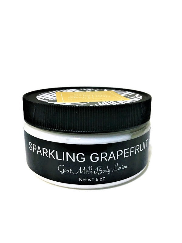 Sparkling Grapefruit Goats Milk Body Lotion - Dancing Orchid SoapWorks