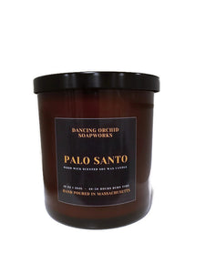 Palo Santo Scented Wood Wick Soy Candle