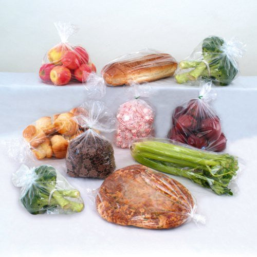 Guss Poly Bag  CLEAR  500 pcs 12''+6''x30''  #25 Lbs