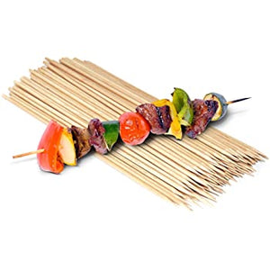 Bamboo Skewers,  8'',  pack of 100pcs