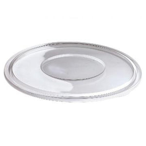 Lids - For Plastic Salad Bowl 160oz, 25 pcs