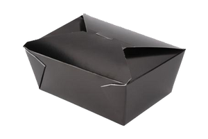 Black Paper Food Containers   200pcs  #3