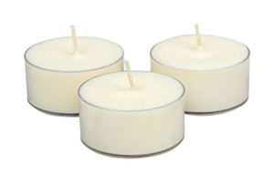 CANDLES  WAX  TEALIGHT  5 HOURS  50 PCS