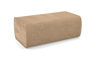Single Fold Brown Paper Towels, #H115, #2201
