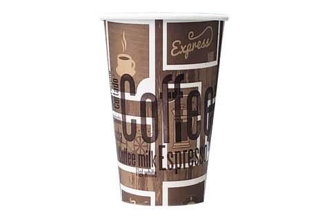 Coffee Cups,  **Latte**,   16 oz 1000pcs