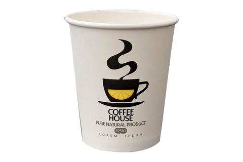 Coffee Cups,  **Coffee House**,  8 oz,  1000 pcs
