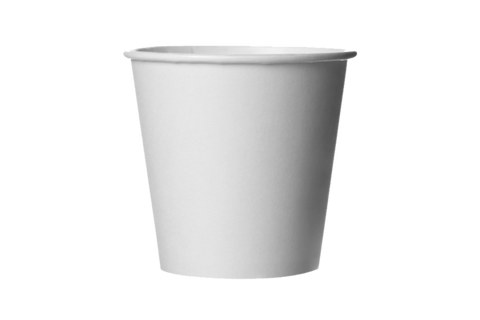 Coffee Cups,  **Plain White**  10 oz, 1000 pcs