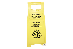 119 Caution Wet Floor Sign 26