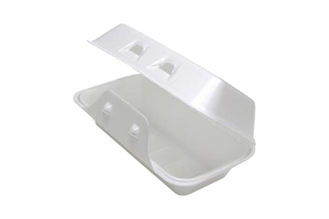 Foam Container,  8''x5''x 3'',  #0188,  220 pcs