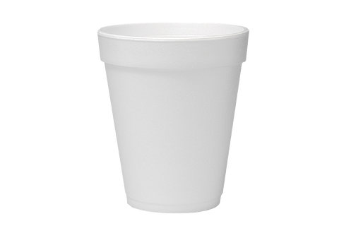 Foam Food Container Cups, 7oz, 1000pcs, Lids For it :6JL-6JLNV,  #6J6