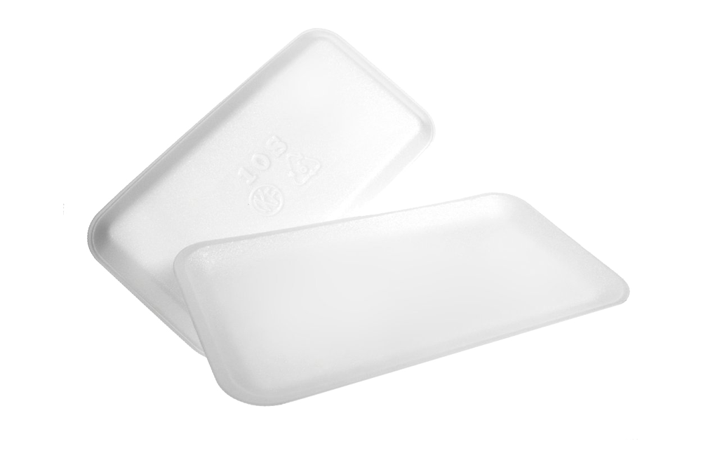 Foam Tray, 1000 pcs,  5.25 x 5.25 x 0.5,  # 1S