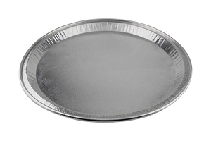 FOIL CATERING TRAY ROUND 12'' 25PCS