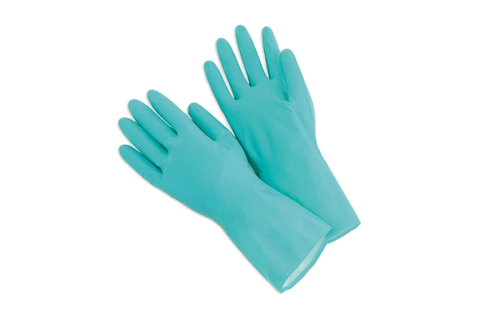 GLOVES 12 PAIRS- NITRILE - GREEN  Medium