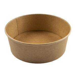 Hy Pax Eco Bowl Kraft Paper Food Container 40 oz 300pcs
