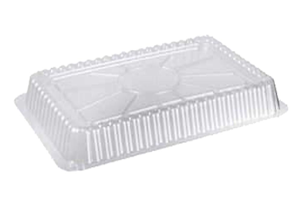 Lids Dome For 1LB,  Foil Container Rectangular, 1000 Pcs