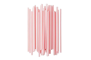 MILKSHAKE STRAWS-FLEXIBLE 8'' 200 PCS ***EACH***