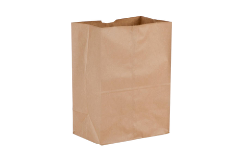 Paper Bags, Brown,  20 lbs, Regular,  500 pcs #20