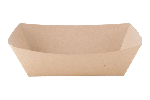 Paper Food Tray  Plain  #300 500