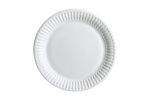 PAPER PLATES   UNCOATED   9''   1200 PCS