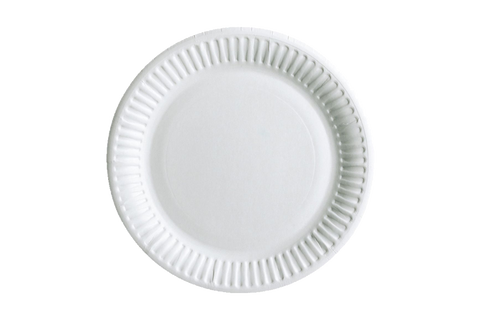 PAPER PLATES   UNCOATED   6''   1000 PCS