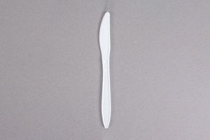 Plastic Knives , 1000pcs,.  #White, #Medium, #UnWrapped