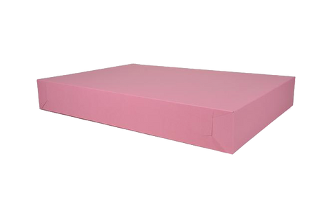 Pink cake box, 26x18 1/2x4, 50 pcs  Full sheet