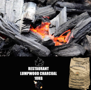 Restaurant Charcoal,  Hard Lump,  10 kg