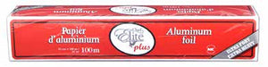 Aluminum Roll With Cutter Box,12''x200m, Extra-Heavy, #Chef Elite, #MC